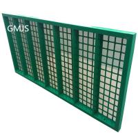 Buy cheap Professional Steel Frame Mi Swaco Shaker Screens For Oil Vibrating Sieving from wholesalers