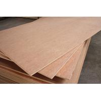 Buy cheap 1-25mm 3' * 7' bintangor  plywood for packing from wholesalers