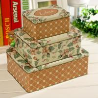 Buy cheap 3 Gift tin set as customer's own design and dimension from wholesalers