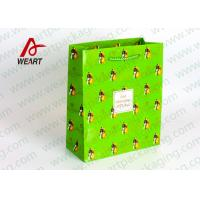 Buy cheap Small Xmas Holiday Paper Gift Bags , Unique Personalized Halloween Paper Bags from wholesalers