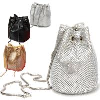 Buy cheap Prefer To Life Ladies Evening Bags Shiny Scale Clutch Purse for Party Prom Wedding Purse Luxury Women's Wallets from wholesalers