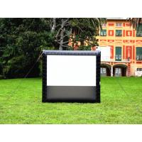 Buy cheap Giant Inflatable Movie Screen Projection Screen Outdoor Movie Display For Events from wholesalers