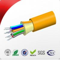 Buy cheap 12 Core Indoor Fiber Optic Cable Of Tight Buffered And Non - Metal Member from wholesalers