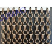 Buy cheap Food Industry  Metal Chain Link Curtains Imaginative With Fly Inset Control product