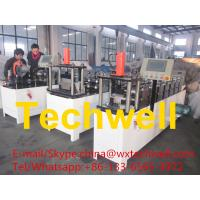 Buy cheap Steel Roof Truss Omega Profile Roll Forming Machine for Light Steel Stud and Track from wholesalers