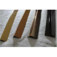 Buy cheap stainless steel angle transition strip SS316 angle bronze mirror finish from Wholesalers