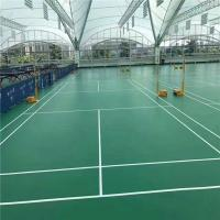 Buy cheap badminton court flooring volleyball court flooring material sports vinyl pvc flooring pvc sport flooring for futs from wholesalers