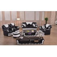 Buy cheap Hotsale modern furniture living room set Italian leather sofa with coffee table and TV stand from wholesalers