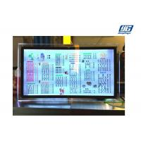 Buy cheap Table Standing Illuminated Menu Board Crystal Acrylic LED Light Box DC12 / 24V product
