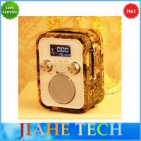 Buy cheap NEW hand free call portable alarm clock radio with bluetooth speaker and  TF/AUX/USB for MP3 play from wholesalers