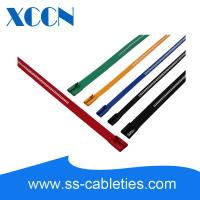 Buy cheap 14 Black Ladder Type Stainless Steel Cable Ties Rolling Ball Mechanism from wholesalers