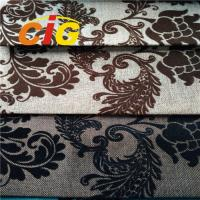 Buy cheap 100% Polyester Sofa Upholstery Fabric Flame Retardant 30m - 50m/Roll product