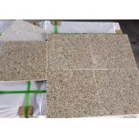Buy cheap Building materials New G 682 Golden Yellow  Rusty Misty Yellow Polished Honed Paving Stone Granite slabs tiles from wholesalers