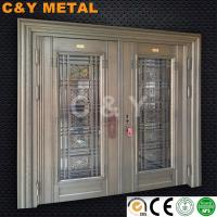 Buy cheap 304 Decorative stainless steel door for architecture design by CY METAL from wholesalers