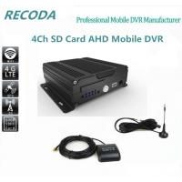 Buy cheap Dual SD Digital video recorder 4ch bus 4G mdvr support ISO & Android surveillance product
