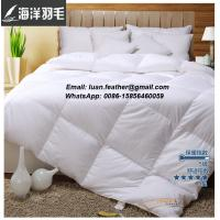 Buy cheap Twin 90% Goose Down Comforter Duvet Insert Down Feather & King Goose Down Pillow from wholesalers