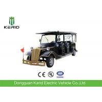 Buy cheap Electric Eight Seater Golf Cart For Villas / Club , Smooth Driving Electric Tour Bus from wholesalers