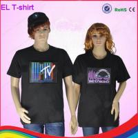 Buy cheap party must-have flashing rock t-shirt/ woman t-shirt/ man t-shirt with different design from wholesalers