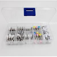 Buy cheap Dentist Tool Kit Dental Polishing Brush Polisher Prophy Rubber Cup Latch Colorful Nylon Brush from wholesalers