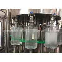 5 Liter Bottled Water Making Machine PLC System For PET Plastic Bottle