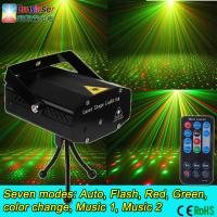 Buy cheap mini laser lights twinkling star Auto sound mini dj stage lights cheap price ce rohs with remote control from wholesalers