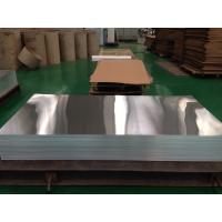 Buy cheap High Reflective Polished Flat Aluminum Plate , Mirror Finish Aluminum Sheet from wholesalers