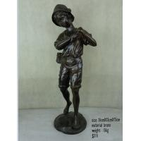 Buy cheap Bronze angel statue for garden decoration from wholesalers