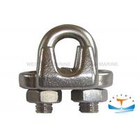 Buy cheap Us Type G450 Malleable Galvanized metal Wire Rope Clip Size 1/8'' -  3 from wholesalers