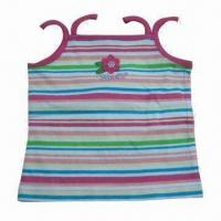 Buy cheap Children's T-shirt, Made of 100% Combed Cotton Jersey, Available in Various Colors from wholesalers