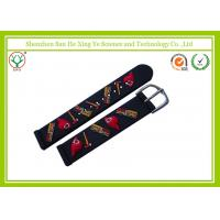 Buy cheap Unique Black Silicone Watch Band 16mm For Children / Flexible Watch Strap from wholesalers