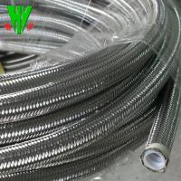 Buy cheap High temperature 304 stainless steel wire hose SAE 100 R14 flexible metal hose from wholesalers