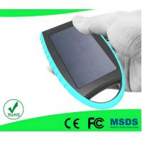 China Recharger High Quality Portable Solar Mobile Phone Charger T018 With Self Time on sale