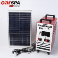 Buy cheap 100AH Portable Solar Power System Home Use With Power Inverter Solar Panel from wholesalers