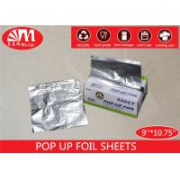 Buy cheap Piece Shape Aluminium Pop Up Foil Sheets 9 Inch  X 10.75 Inch Non Stick Easy For Use from wholesalers
