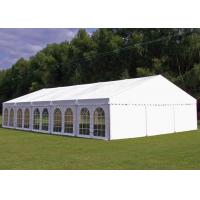 Buy cheap PVC Tarpaulin Garden Party Tent , Outside Tent Weddings 5 M Bay Distance from wholesalers
