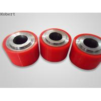 Buy cheap Colorful Polyurethane Roller Wheels , High Capacity Urethane Coated Rollers Wheels from wholesalers