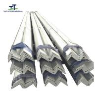 Buy cheap Equal Unequal Structural Steel Angle , Mild Steel Equal Angle Q235 Black Color Or Galvanized from wholesalers