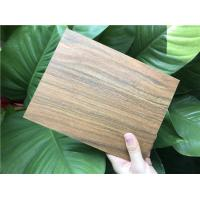 Buy cheap Simple Classic Wood Look Vinyl Planks Covering 2 MM Thickness Recycled from wholesalers