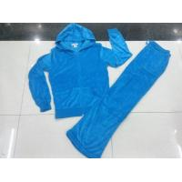 Buy cheap wholesale 9,500 sets Juicy Couture Women sport velvet Suit、cheap price Yoga tracksuit from wholesalers