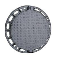 Buy cheap Round Type Ductile Iron Manhole Cover EN124 D-400 C250 30-50 Years Life from wholesalers