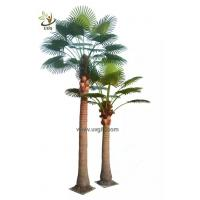 Buy cheap UVG PTR048 factory price fake coconut palm tree for indoor office landscaping from wholesalers