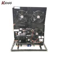 Buy cheap 10HP Copeland Semi Hermetic Compressor Fin Type Air Cooled Condensing Unit from wholesalers