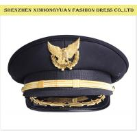 Buy cheap Hand - Made Military Hats And Caps Police Uniform Army Officer Womens Military Hats from wholesalers