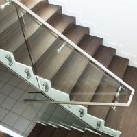Buy cheap Wholesale High-quality stainless steel standoff clamp frameless glass Railing from wholesalers