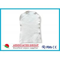Buy cheap Disposable Skincare Wet Wash Glove Customized Weight For Cleaning Patient Body from wholesalers