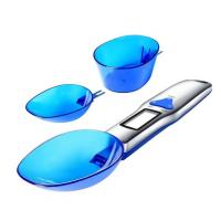 Buy cheap 300g/0.1g Portable LCD Digital Kitchen Scale Measuring Spoon Gram Electronic Spoon Weight Volumn Food Scale Cooking Tool from wholesalers