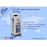 Buy cheap 1200w E - Light Ipl Shr Hair Removal Machine For Skin Rejuvenation from wholesalers