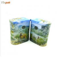 Buy cheap Oval Ceylon cheese Tin Box from wholesalers