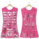 Buy cheap Jewelry Brooch Closet Display Organizer Holder Pocket Storage Dress Hanger Hook from wholesalers