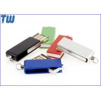 Buy cheap Tiny Swivel Thumb Drives 16GB 32GB with Free Key Chain and Free Logo Printing from wholesalers